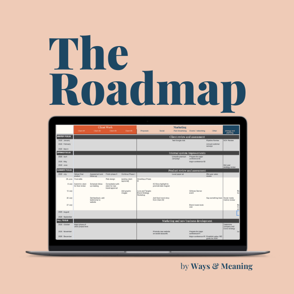 The Roadmap planning tool